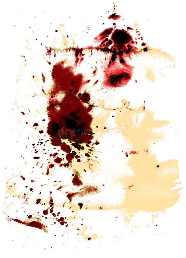 цвет текстурирует воду стоковая фотография