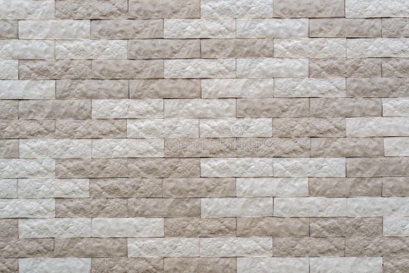 Цвет текстуры кирпича стены белый стоковые изображения rf