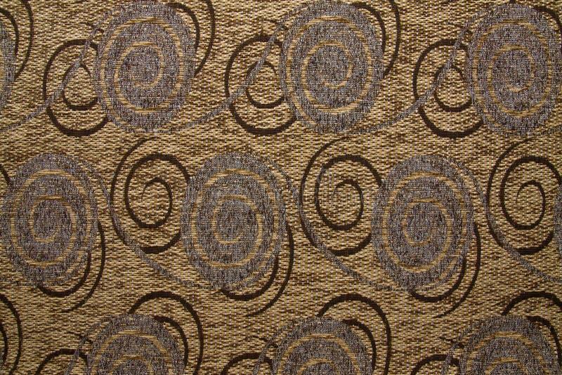 Цвет льва Anemon 131 текстуры текстильной ткани желтый стоковая фотография