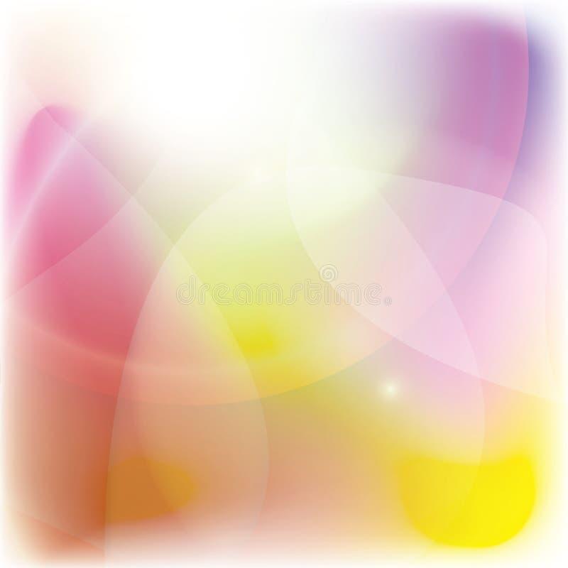 Цвет яркой предпосылки цветов красочной абстрактной теплый стоковое изображение rf