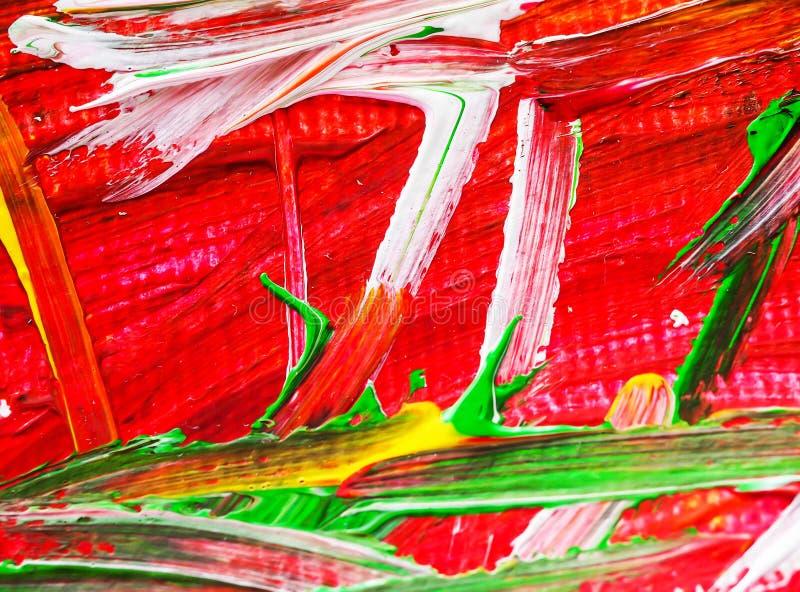 Цвет acrylic воды конспекта предпосылки картины искусств акрилового стоковая фотография