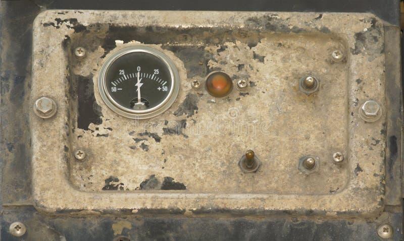 целесообразная старая панель стоковое фото