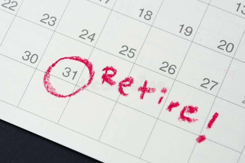 Цель выхода на пенсию или финансовая свобода, планируя для успеха Салара стоковая фотография rf