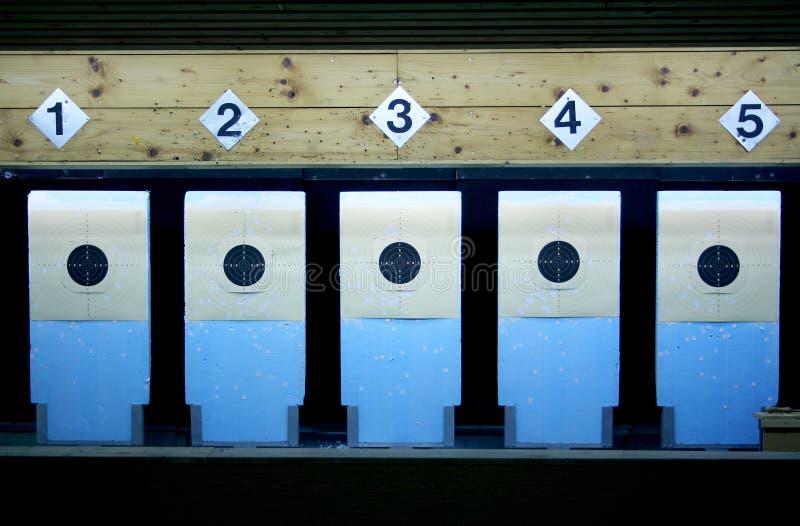 Цель стрельбы стоковые фото
