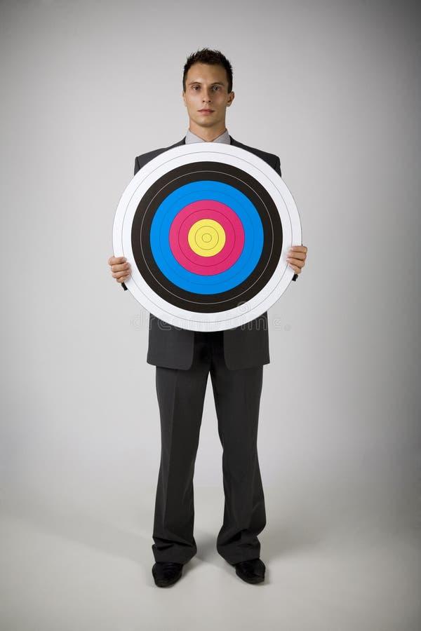 цель человека archery стоковая фотография