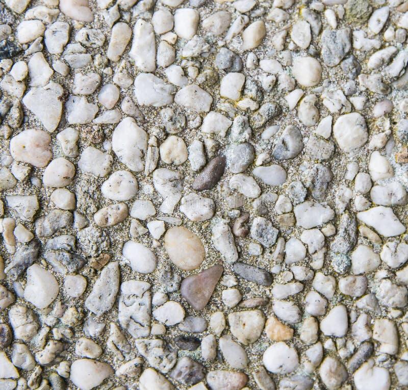 Цементированная текстура камешков стоковые фото