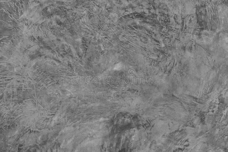 Цементируйте стену с уникально предпосылкой текстуры картины с космосом экземпляра Серая ретро предпосылка стоковое изображение