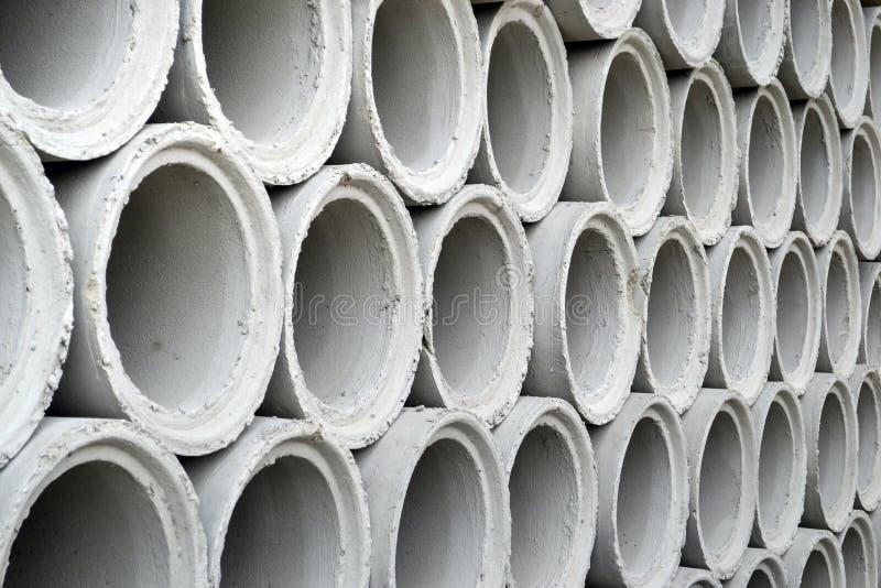 Цементная труба стоковое фото