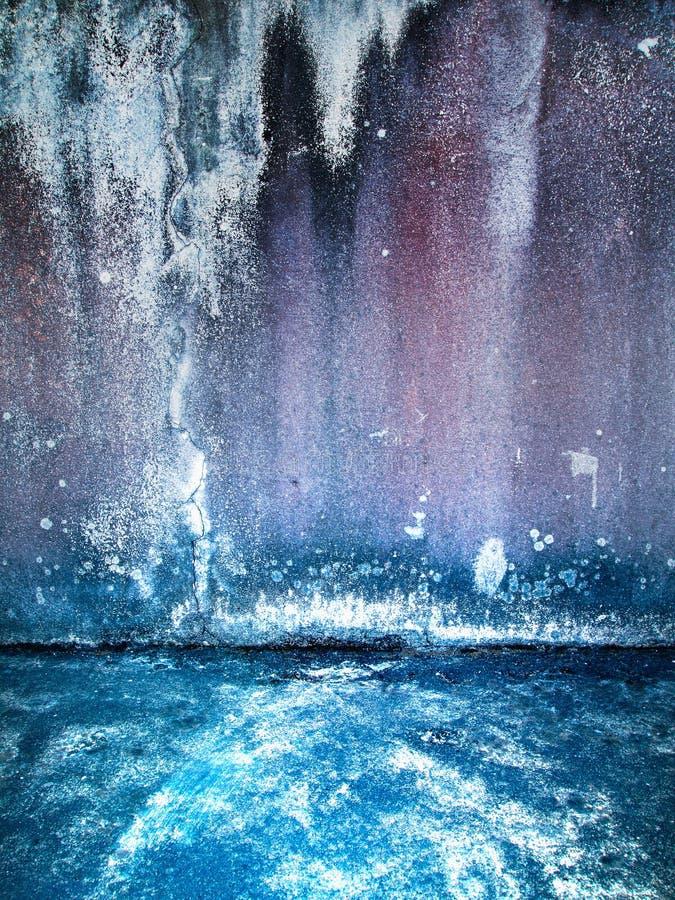 цемент трескает стену гипсолита пола старую стоковые фото