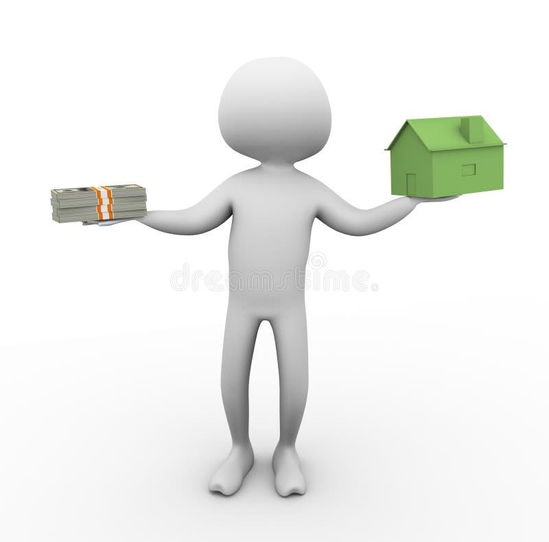 цена на дом бесплатная иллюстрация