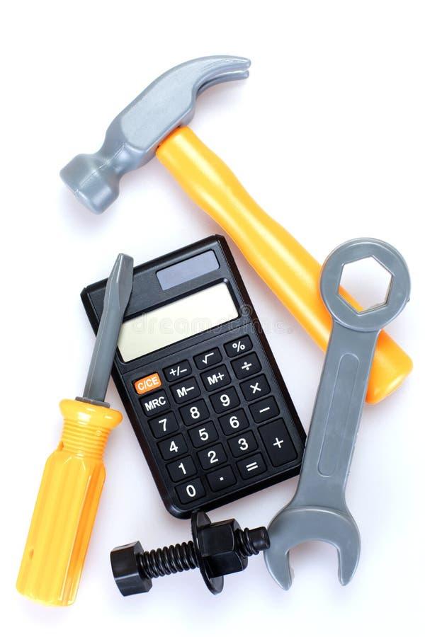 Цена домашних ремонтов, DIY или реновации стоковые фото