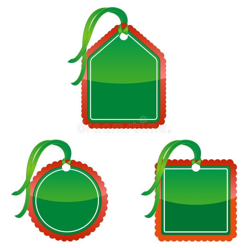 ценники рождества бесплатная иллюстрация