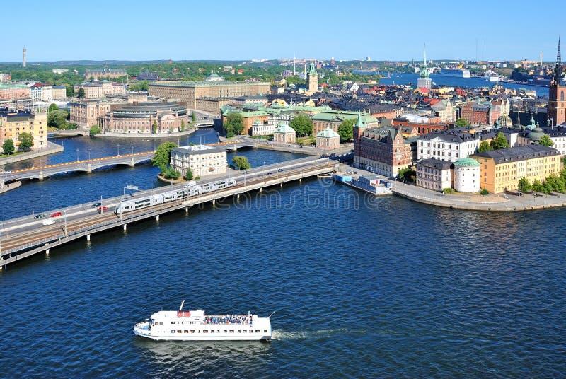 Download центральная часть Stockholm Стоковое Изображение - изображение насчитывающей центрально, bridger: 18385189