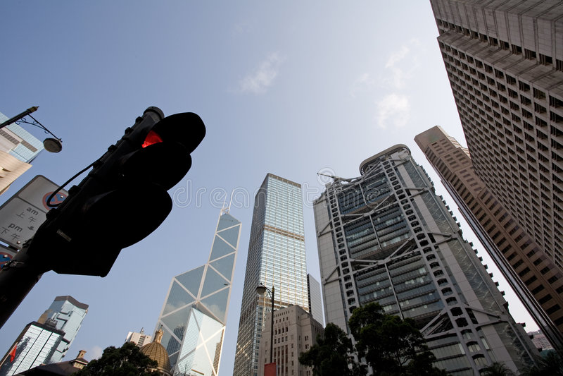 центральное Hong Kong стоковые изображения rf