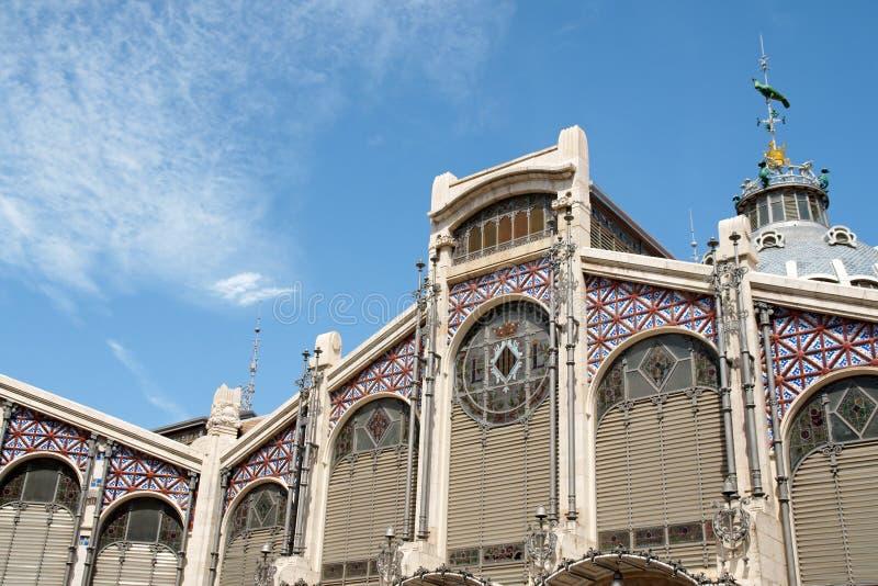 центральное mercado valencia стоковое фото rf