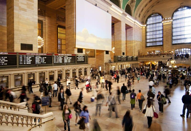 центральный грандиозный поезд билета станции залы стоковые изображения