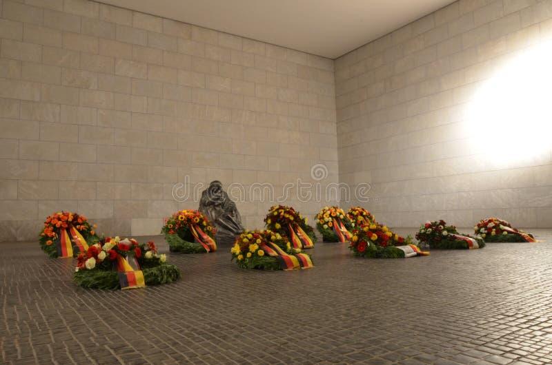 Центральный мемориал Федеративной республики Германии для жертв войны и диктатуры стоковая фотография rf