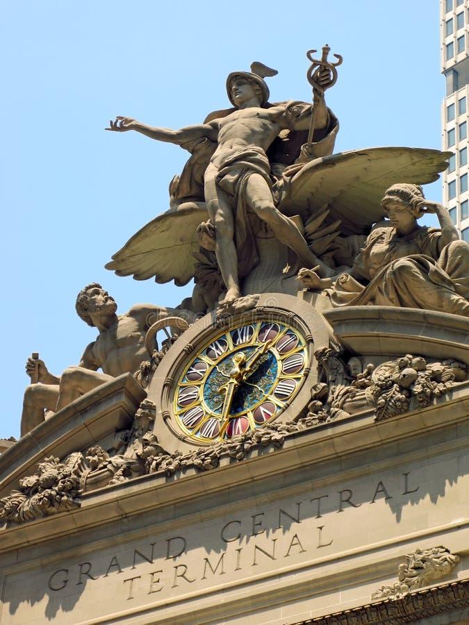 центральный фасад грандиозный стоковое изображение