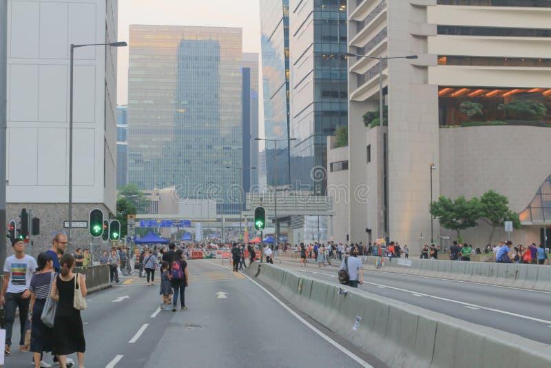 централь, Гонконг 5-ое октября 2014 стоковые изображения