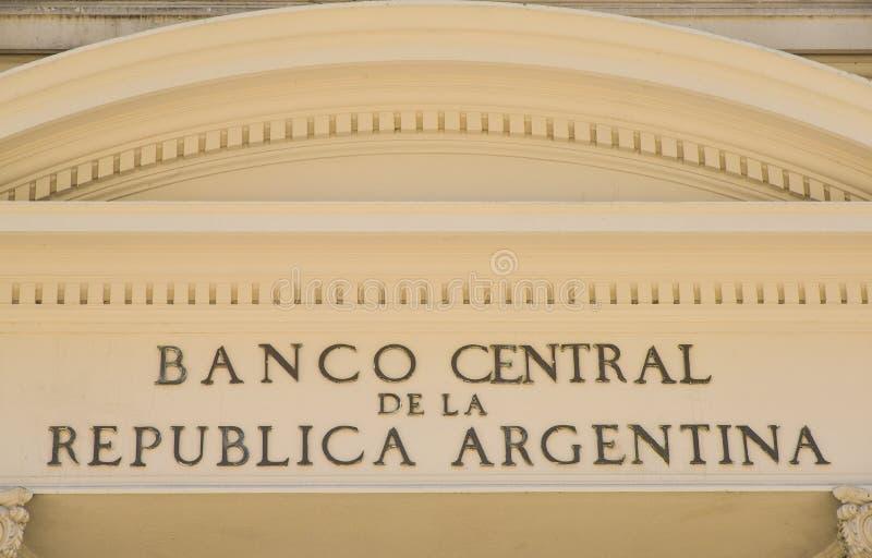 Центральный банк Аргентины стоковая фотография