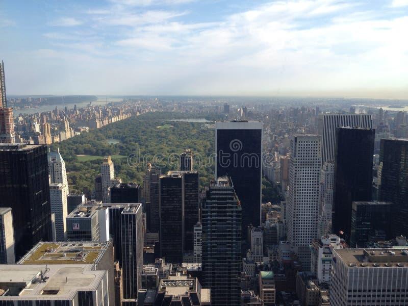 центральный новый парк york стоковое фото