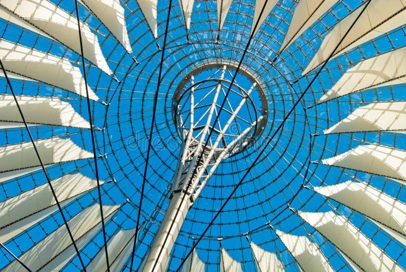 Центр Берлин Сони стоковые изображения rf