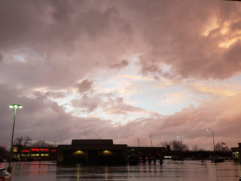 Центр бури стоковое изображение