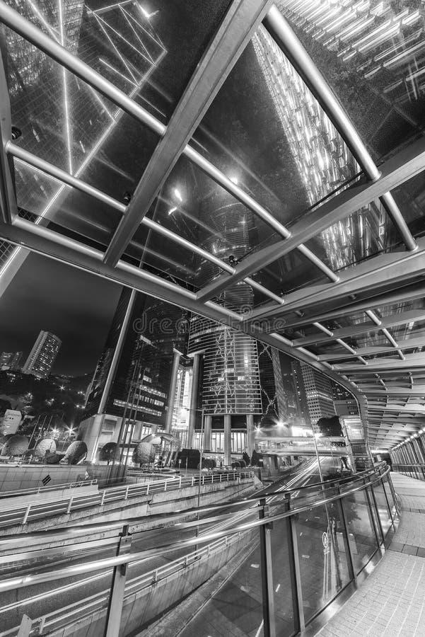 Центр города города Гонконга стоковые изображения rf