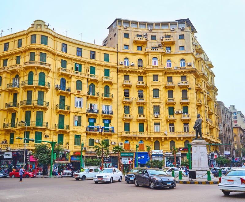 Центр города Каира, Египет стоковое фото rf