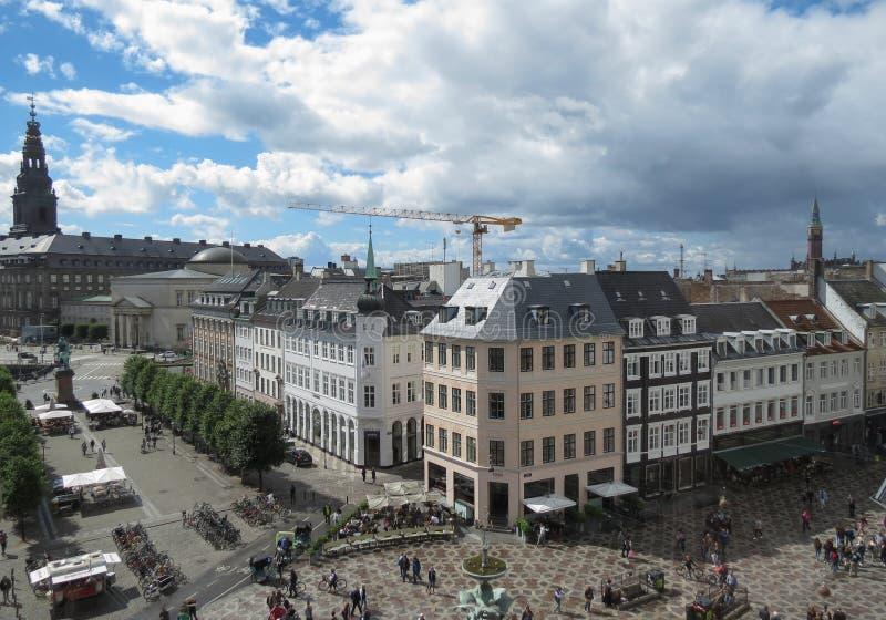 Центр города Копенгагена стоковая фотография