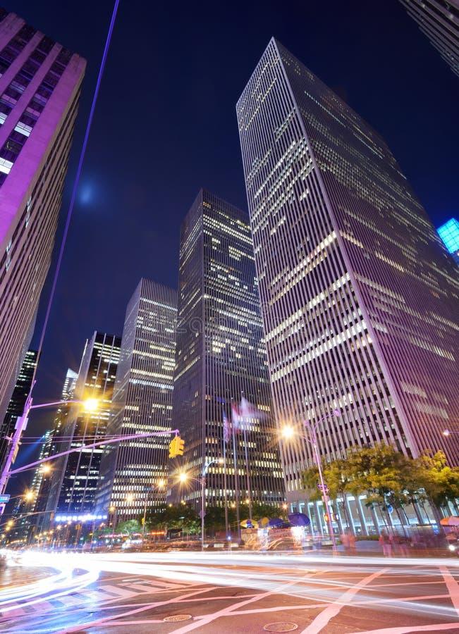 Центр города Манхаттан стоковое изображение rf