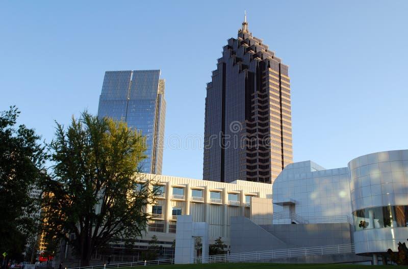 центр города atlanta стоковые изображения