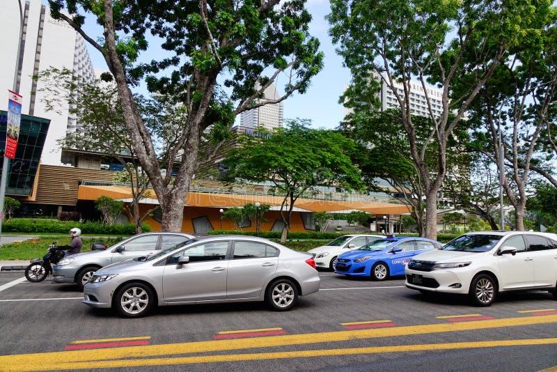 Центр города Сингапура стоковое изображение