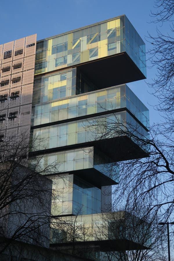 Центр гражданского судопроизводства Манчестера стоковые изображения rf