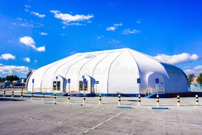 Центр для посетителей исследовательскийа центр NASA Ames стоковые фото