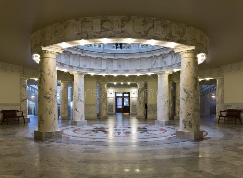 Центр здания капитолия положения Айдахо стоковая фотография