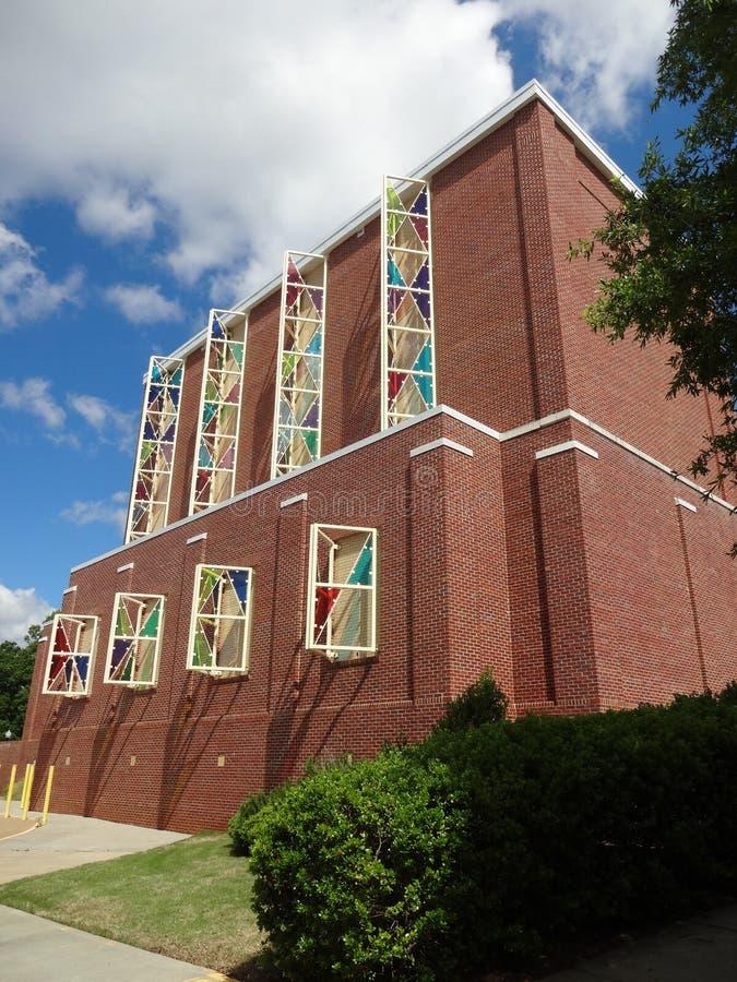 Центр искусства Cary, Северная Каролина стоковые изображения