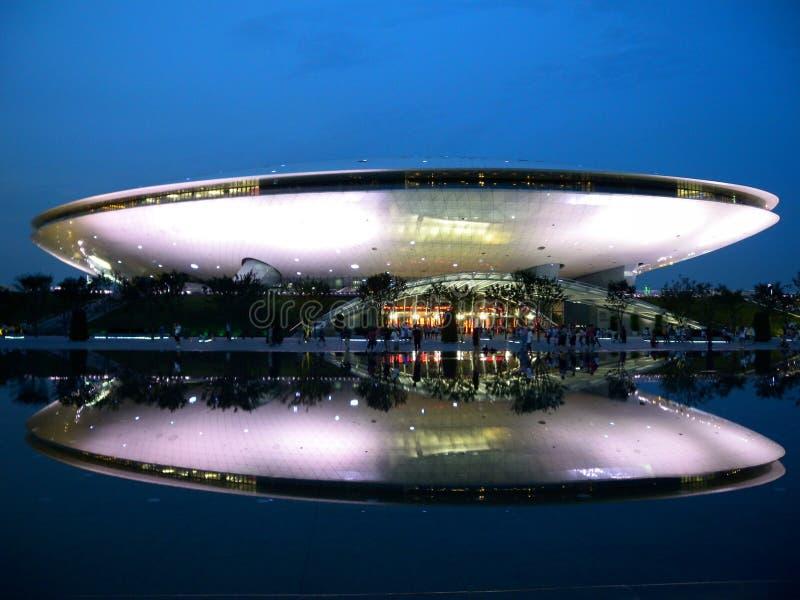 Центр исполнительских искусств šThe ¼ Architectureï стоковое фото rf