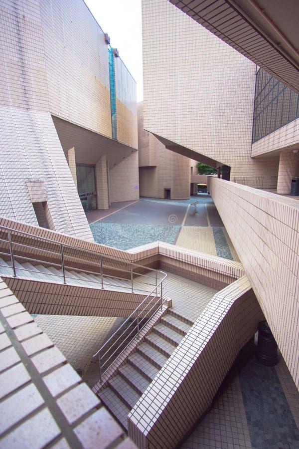 центр культурное Hong Kong стоковое изображение