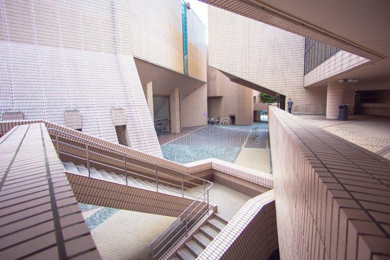 центр культурное Hong Kong стоковое фото