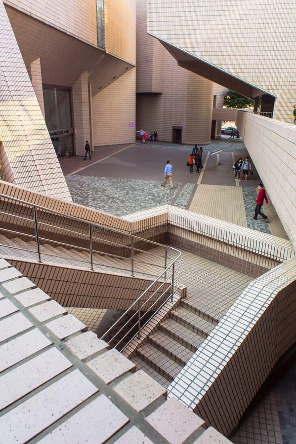 центр культурное Hong Kong стоковые фотографии rf