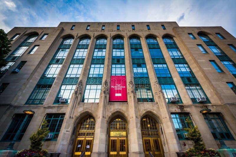 Центр представления Tsai, в университете Бостона, в Бостоне, мамы стоковое фото