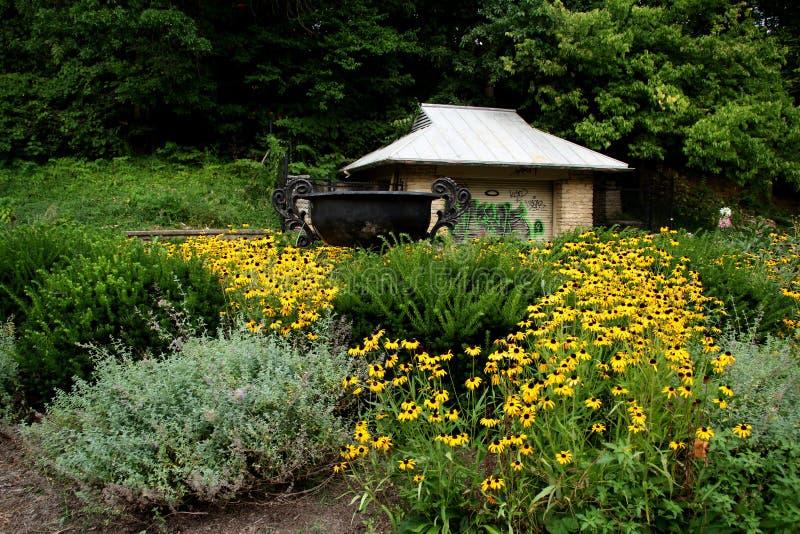 Центр природы Burnett стоковое изображение rf