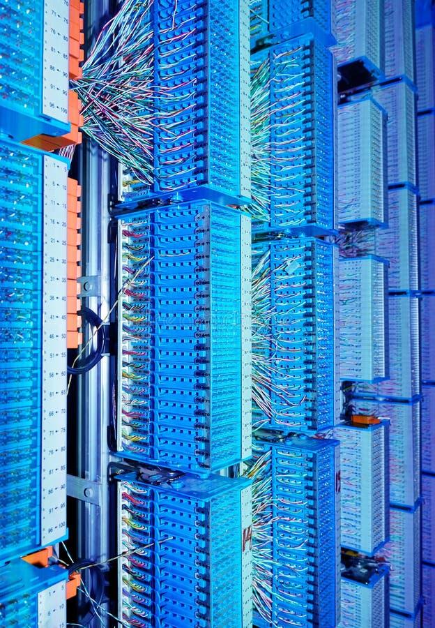 Центр сети стоковые изображения rf