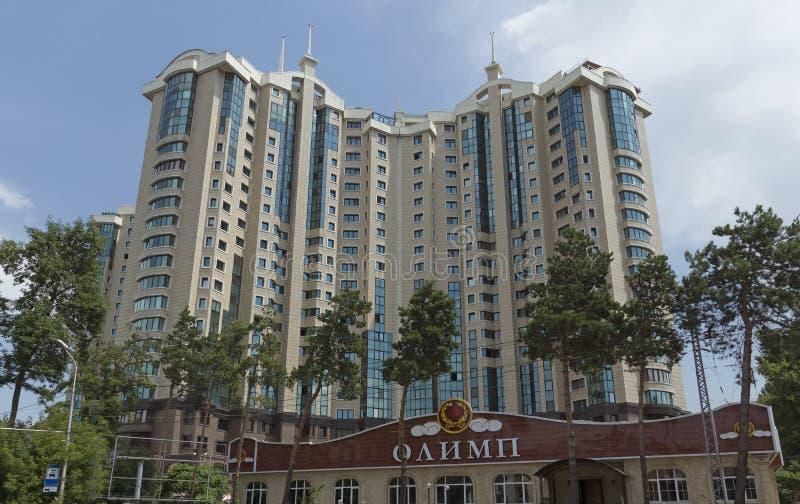 центр столицы almaty стоковое фото rf