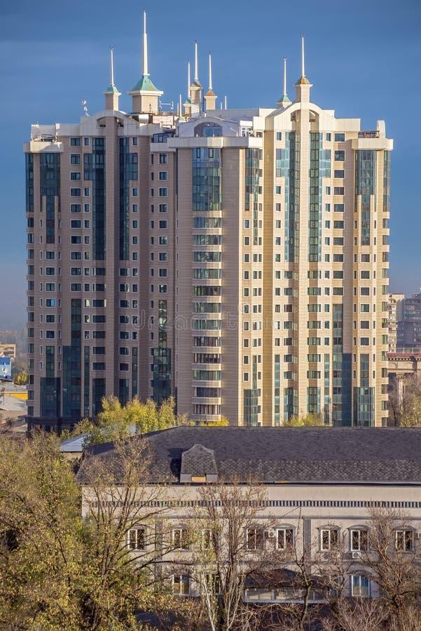 центр столицы almaty стоковое фото