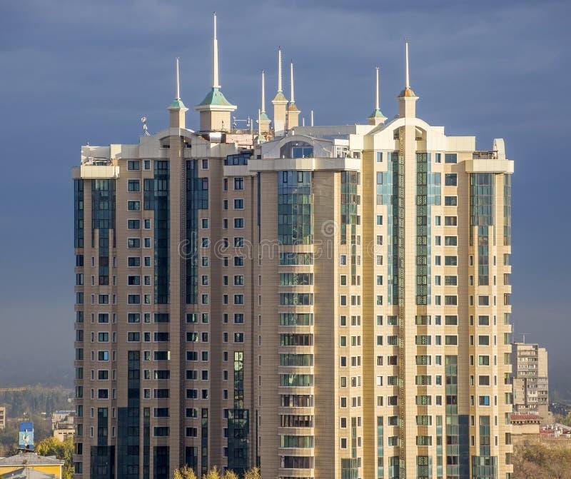 центр столицы almaty стоковое изображение rf