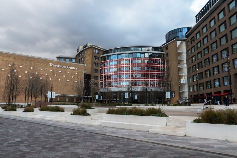 Центр телевидения в Лондоне стоковые фотографии rf