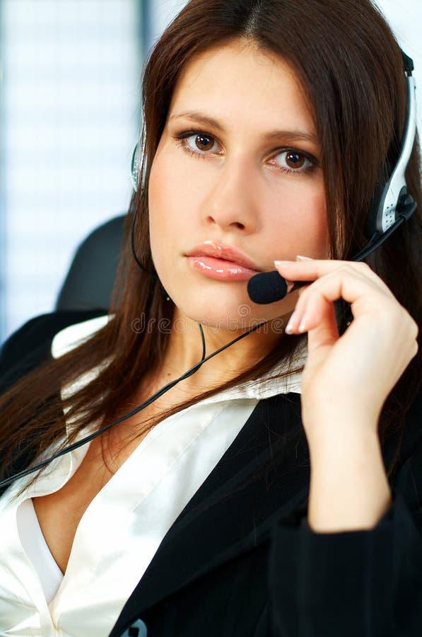 Download центр телефонного обслуживания агента Стоковое Фото - изображение: 650132