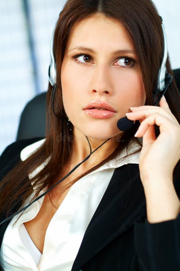 Download центр телефонного обслуживания агента Стоковое Фото - изображение: 650134